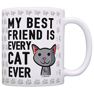 My Best Friend is Every Cat Everギフトコーヒーマグティーカップ