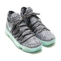NIKE ZOOM KD10 EP(ナイキ ズーム KD10 EP)(COOL GREY/IGLOO-WHITE)【メンズ スニーカー】17FA-S