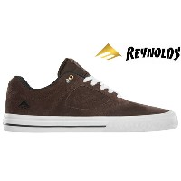 【Emerica】REYNOLDS 3 G6 VULC  Andrew Reynolds Signature Model カラー:brown/white 【エメリカ】【スケートボード】【シューズ】