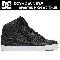 DC スニーカー メンズDC SHOES SPARTAN HIGH WC TX SE DM174024 YRRスパルタンハイ WC TX SE