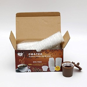 CM & Tea用紙コーヒーフィルタfor k-cup ( 100Count )