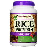 Nutribiotic Rice Protein, Mixed Berry, 21 Ounce ライスプロテイン ミックスベリー味 600g [並行輸入品]