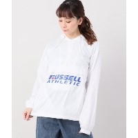 russell athletic packable anorak【ジョイントワークス/JOINT WORKS レディス ブルゾン・スタジャン ホワイト ルミネ LUMINE】