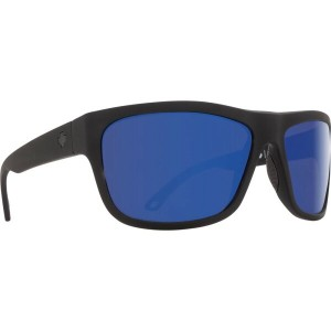 スパイ メンズ メガネ・サングラス【Angler Sunglasses】Soft Matte Black/ Happy Bronze Polarized Dark Blue Spectra Lens