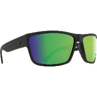 スパイ メンズ メガネ・サングラス【Rocky Sunglasses】Soft Matte Black/ Happy Bronze Polarized Green Lens