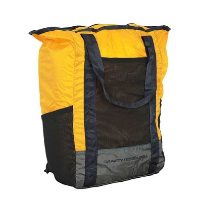 GRAVITY RESEARCH グラビティリサーチ POCKETABLE 2WAY TOTE Yellow GR-102/バッグ リュック ポケッタブル