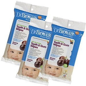 Dr. Brown's 3 Piece Tooth and Gum Wipes by Dr. Brown's