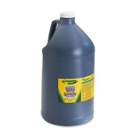 Washableペイント、ブラック、1 Gal , Sold as 1 Each