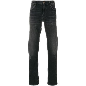 Mauro Grifoni regular fit jeans - グレー