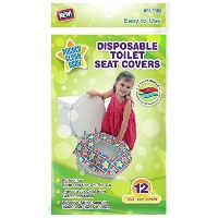Mighty Clean Baby Disposable Toilet Seat Covers by Mighty Clean Baby