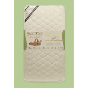 Naturepedic Crib Mattress Quilted Organic Cotton DELUXE 252 Coil by naturepedic [並行輸入品]