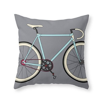 """society6クラシックロードバイクThrow枕 Cover (20"""" x 20"""") with pillow insert s6-354250p26a18v131a25v193"""