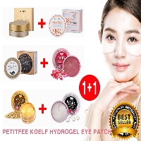 [韓国コスメ PETITFEE]1+1PETITFEE KOELF HYDROGEL EYE PATCH ゴールド EGF アイパッチPETITFEE Gold EGF Eye Patch