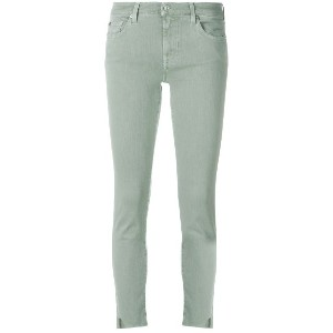 7 For All Mankind スキニージーンズ - グリーン
