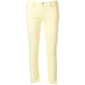 7 For All Mankind スキニージーンズ - イエロー&オレンジ