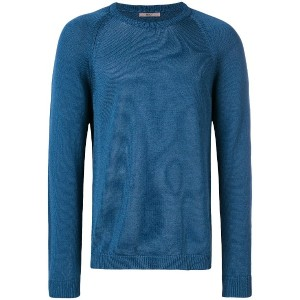 Nuur lightweight knitted sweater - ブルー