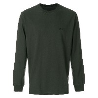 Stussy long sleeve jersey tee - ブラック