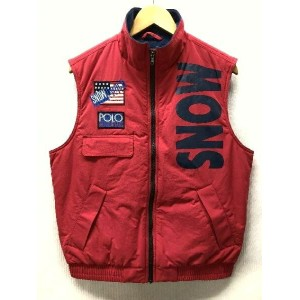 Polo by Ralph Lauren ポロ バイ ラルフローレン The SNOW BEACH Collection FLEECE RUGBY VEST スノービーチ コレクション フリース...