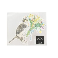 【Paper message×Le Magasin】花と猫のメッセージカード【アダム エ ロペル マガザン/Adam et Rope Le Magasin レディス その他(インテリア・生活雑貨)...