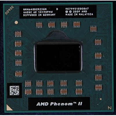 AMD Phenom II N640 Dual Core CPU 2.9 GHz Mobile Processor - HMN640DCR23GM