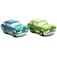 AppletreeデザインRoad Trip Salt and Pepperセット、3–1/ 2by 1–3/ 8by 1–7/ 8インチ