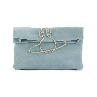 Vivienne Westwood Oxford clutch bag - ブルー