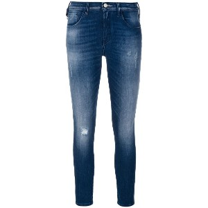 Jacob Cohen faded Kimberly jeans - ブルー