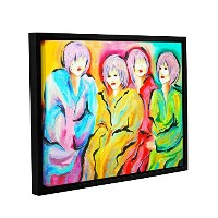 ArtWall Susi Franco 's Mood SwingsギャラリーWrapped floater-framedキャンバス 14x18 0fra058a1418f