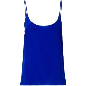 Capucci fitted camisole top - ブルー