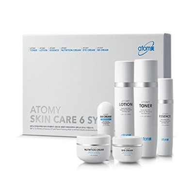 [Atom美 アトミ/ Atomy] Atomi Skin Care 6 System/スキンケア6システム+[Sample Gift](海外直送品)