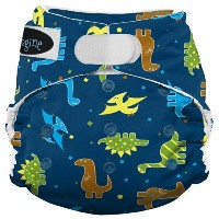 Imagine Baby Products Stay Dry All-In-One Hook and Loop Diaper, Rawr by Imagine Baby Products