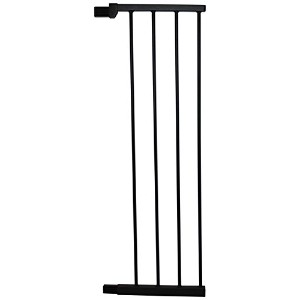 Cardinal Gates Extension for Extra Tall Premium Pressure Gate, Black, Large by Cardinal Gates