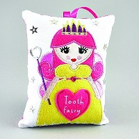Tooth Fairy Cushion FAIRY (Dispatched From UK) by floss and rock