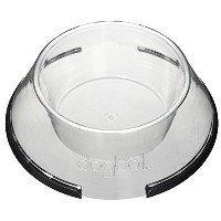 PetProjekt SDBC109 Small Polycarbonate Dog Bowl, Clear
