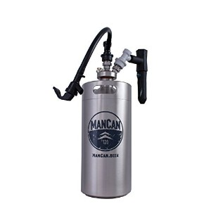 ManCan 128 Flex Kit with Perfect Pour Regulator - CO2 Cartridges not Included by ManCan