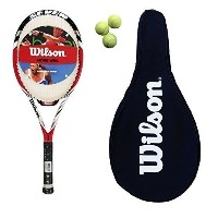 Wilson Federer Pro BLXテニスラケット+カバー+ 3ボールRRP â £ 190 byウィルソン