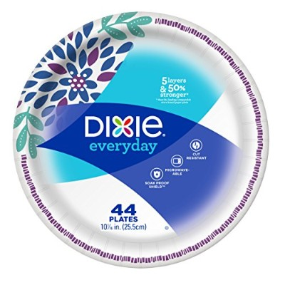 Dixie Heavy Duty Plate, 44 Count by Dixie