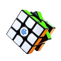 (キューブパズル) Kingcube Gans 356 Air (Master) 3x3 Black Magic cube Gan 356 Air (Master) 3x3x3 Speed cube.