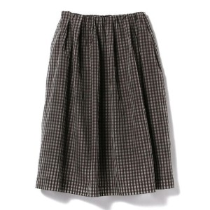【CLASSY.6月号掲載】Demi-Luxe BEAMS / ギンガムチェック スカート【ビームス ウィメン/BEAMS WOMEN レディス スカート GINGHAM CKECK ルミネ...