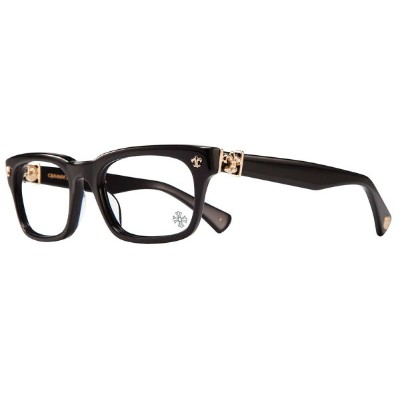 CHROME HEARTS GITTIN ANY? BLACK-GOLD PLATED 52-19-145 クロムハーツ アイウェア 眼鏡
