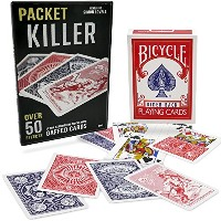 Packet Killer 45 Tricks with Special Bicycle Deck by Magic Makers