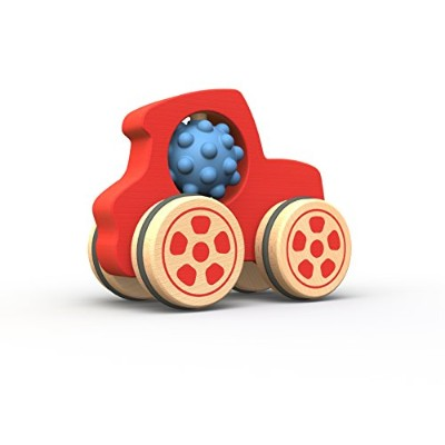 BeginAgain Nubble Rumblers - Toy Truck for Boys and Girls - Great Wooden Toy for Toddlers That Is...