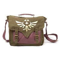Bioworld - Sac Besace Zelda - Golden Triforce - 8718526050356
