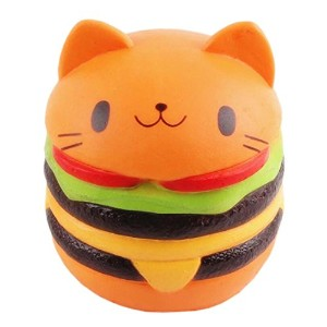 qhzhangソフトPU Squishies Slow Rising Bread Squishy Toys