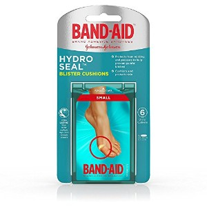High Quality Brand Hydro Seal Small Waterproof Blister Pad Bandages, 6 Count