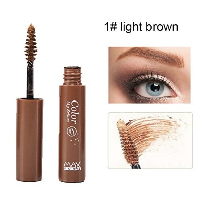 Maxdona Color My Brows Eyebrow Gel Perfect Eyebrows Eye Make-up Cosmetic Lasting Waterproof Eyebrow...