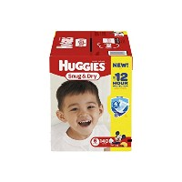 Huggies Snug & Dry Diapers, Size 6, 140 Count (One Month Supply) by Huggies
