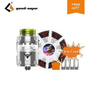 GeekVape Blitzen RTA 5ml Rebuildable Tank Atomizer Single and Dual Construction Coil 18mm Postless...