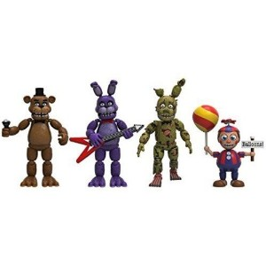 FIVE NIGHTS AT FREDDY'S 2 FIGURE 4PK PACK2