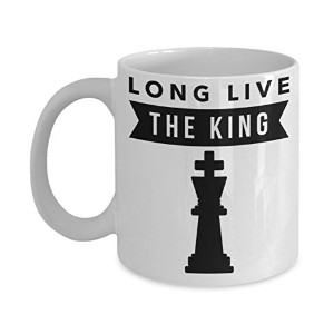 Long Live the Kingチェス11オンスコーヒーマグ